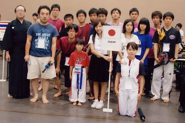 第6回アジア・オセアニア選手権大会 日本選手団
