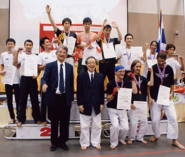 第6回アジア・オセアニア選手権大会 打突団体戦 表彰式