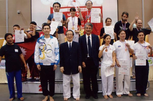 第6回アジア・オセアニア選手権大会 基本動作団体戦 表彰式