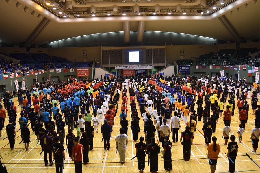 第42回世界選手権大会 開会式