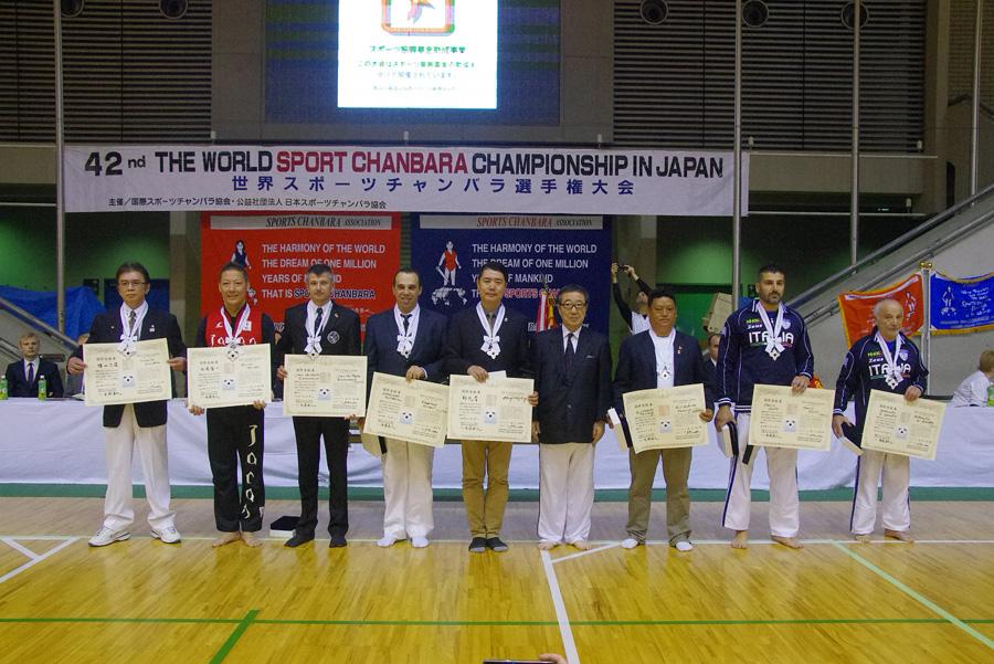 第42回世界選手権大会 国際貢献章
