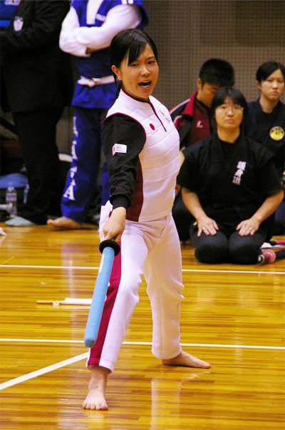 第34回世界大会 日本代表 野村五月選手(高知県)