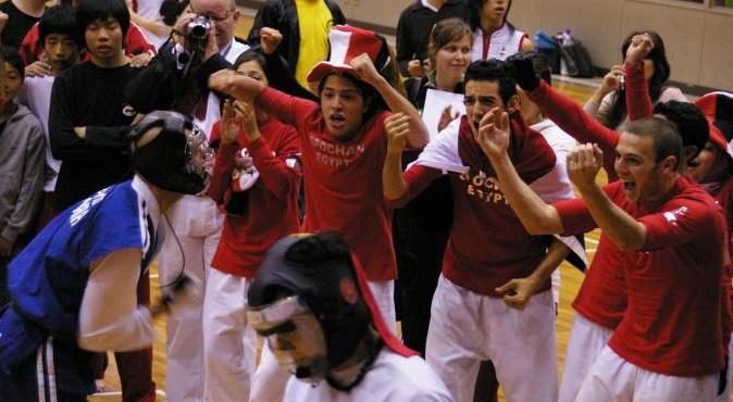 第34回世界大会団体戦打突競技決勝 イタリア対日本