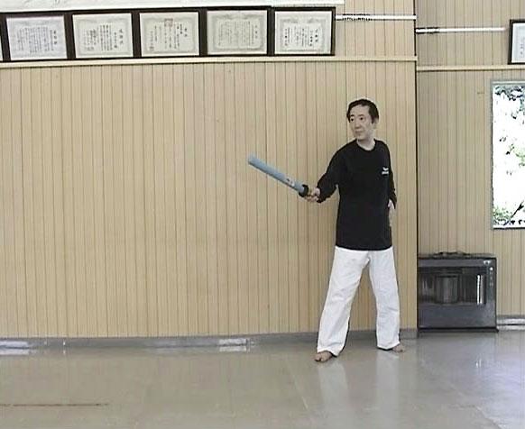 スポーツチャンバラ「基本動作、...
